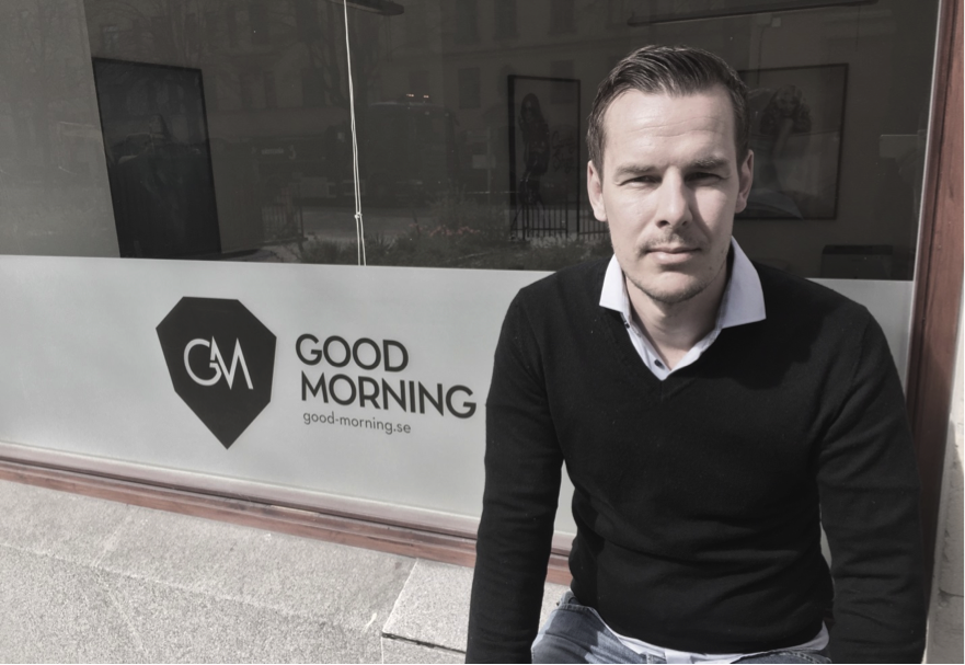 Good Morning Sweden CEO Alex Svaetichin