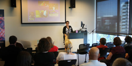 Creative Industries Indigenous Seminar Series   Distinguished Professor Aileen Moreton-Robinson