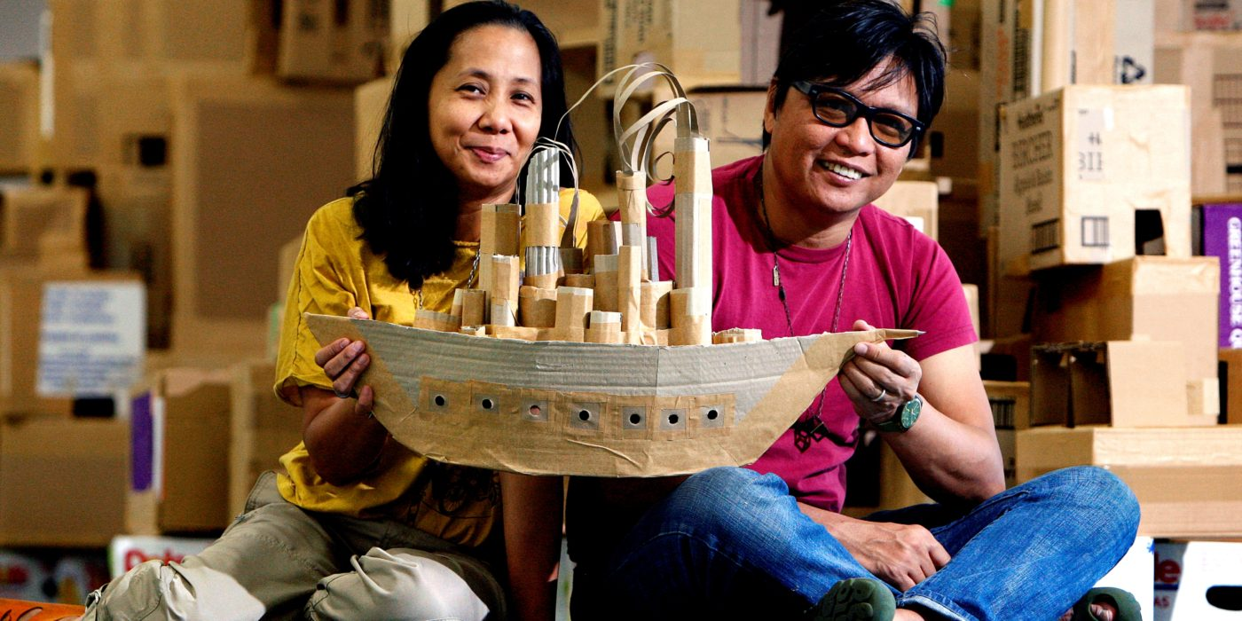 Breaking boundaries with Artwork in a Box: Alfredo and Isabel Aquilizan