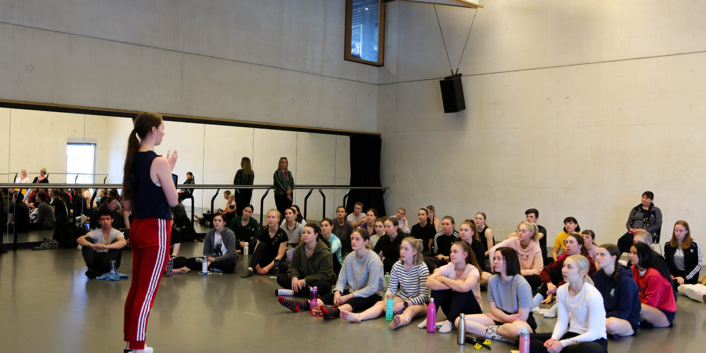 QUT students train in Berlin for contemporary dance festival