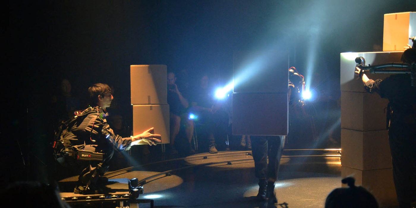 An imagined future for robotics performed on stage