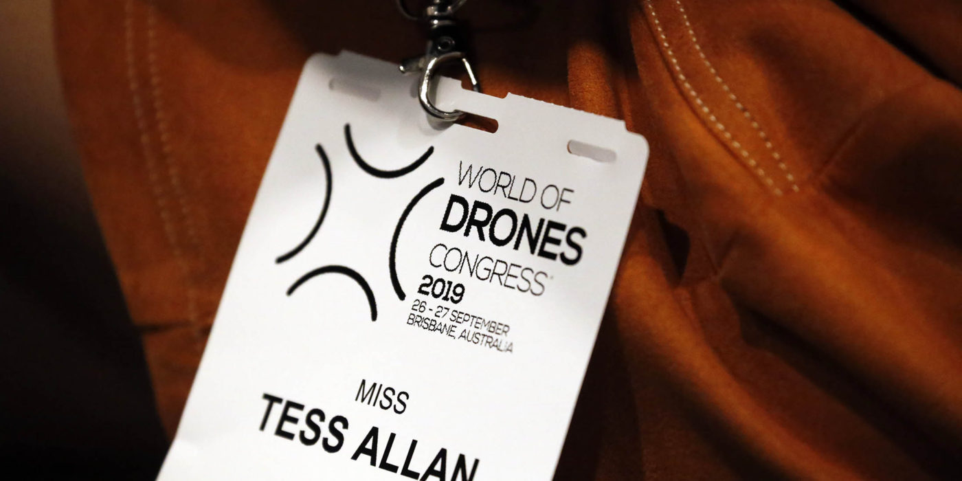 QUT students attend the third annual World of Drones Congress