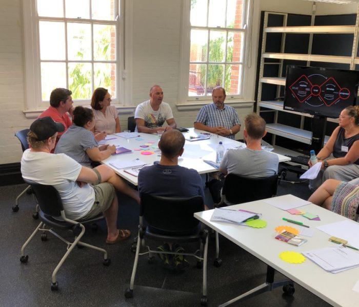 QUT working together with Queensland design teachers