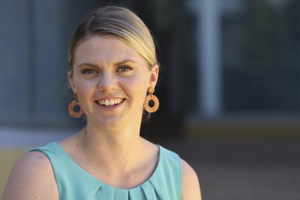 Award-winning QUT journalism graduate Elly Bradfield